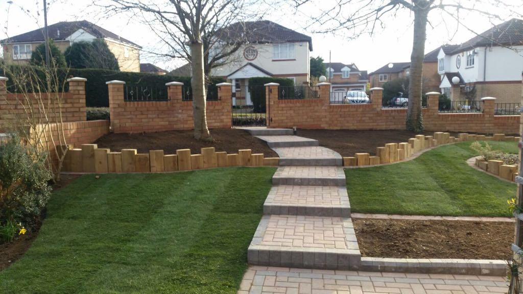 Bespoke garden design in Milton Keynes