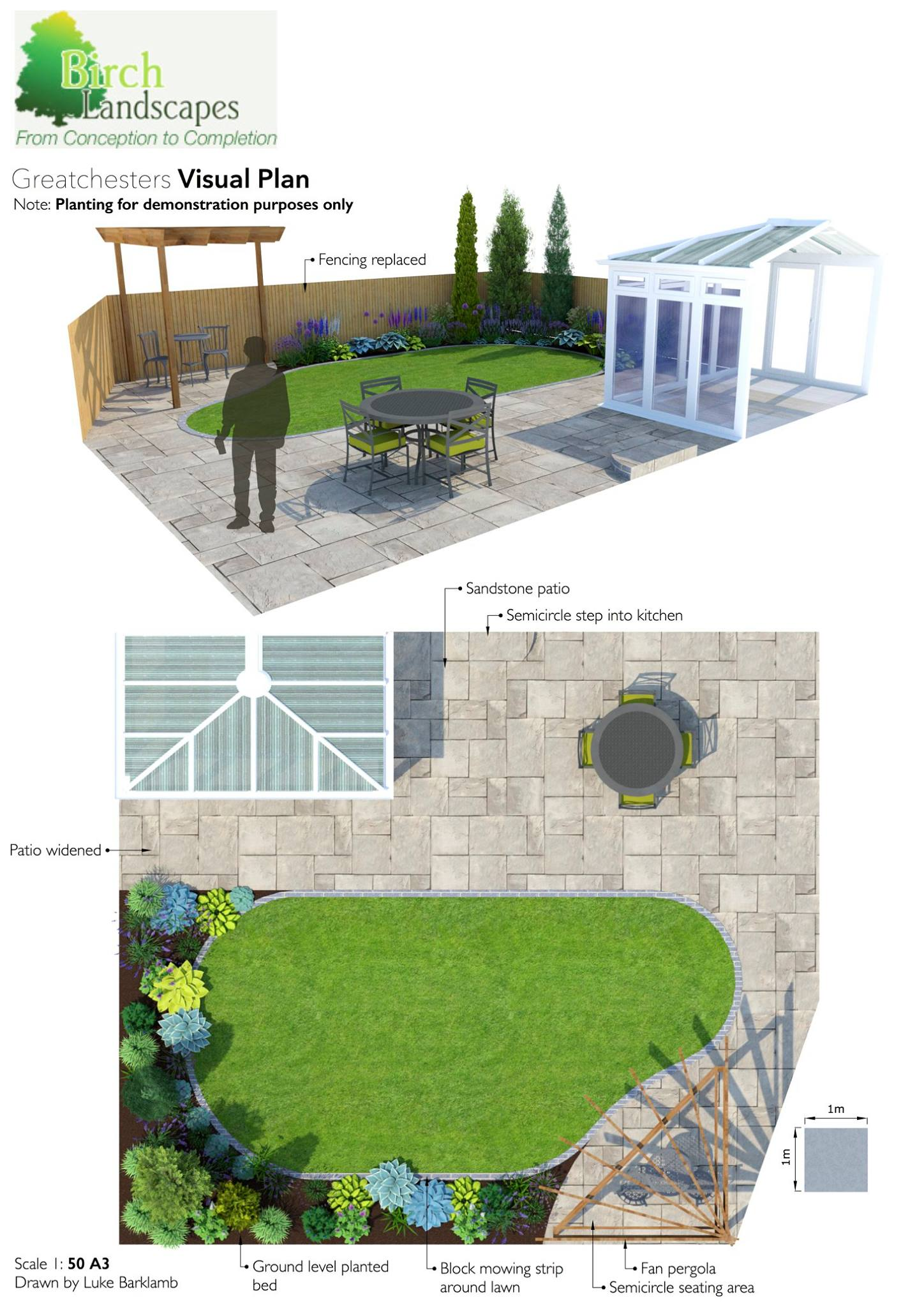 Garden and Paving Design