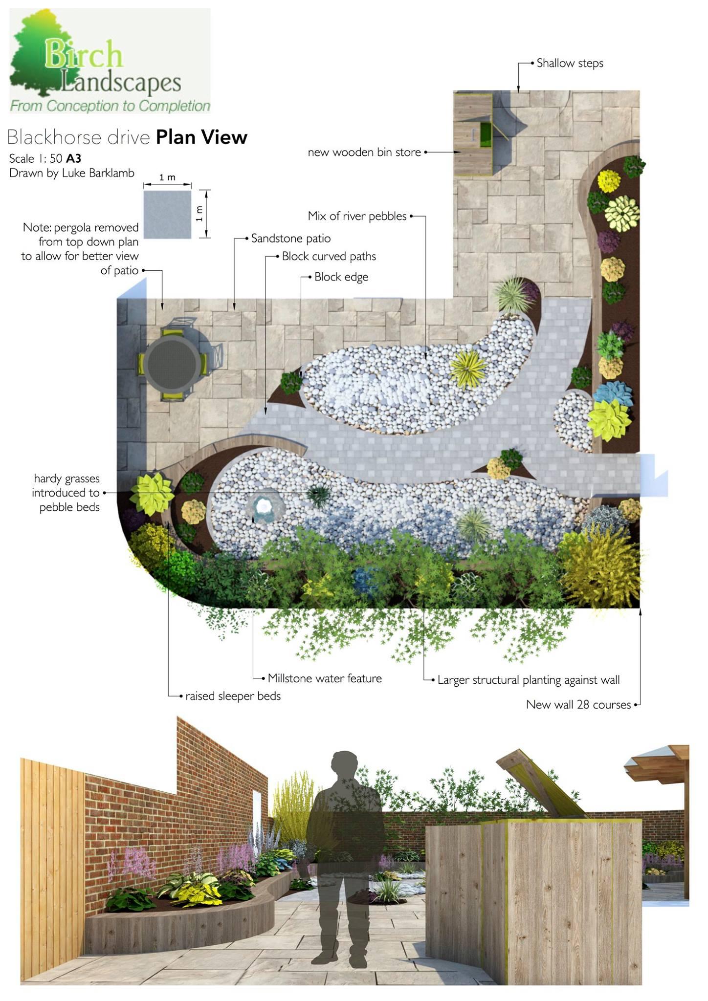 CAD Garden Design in Milton Keynes