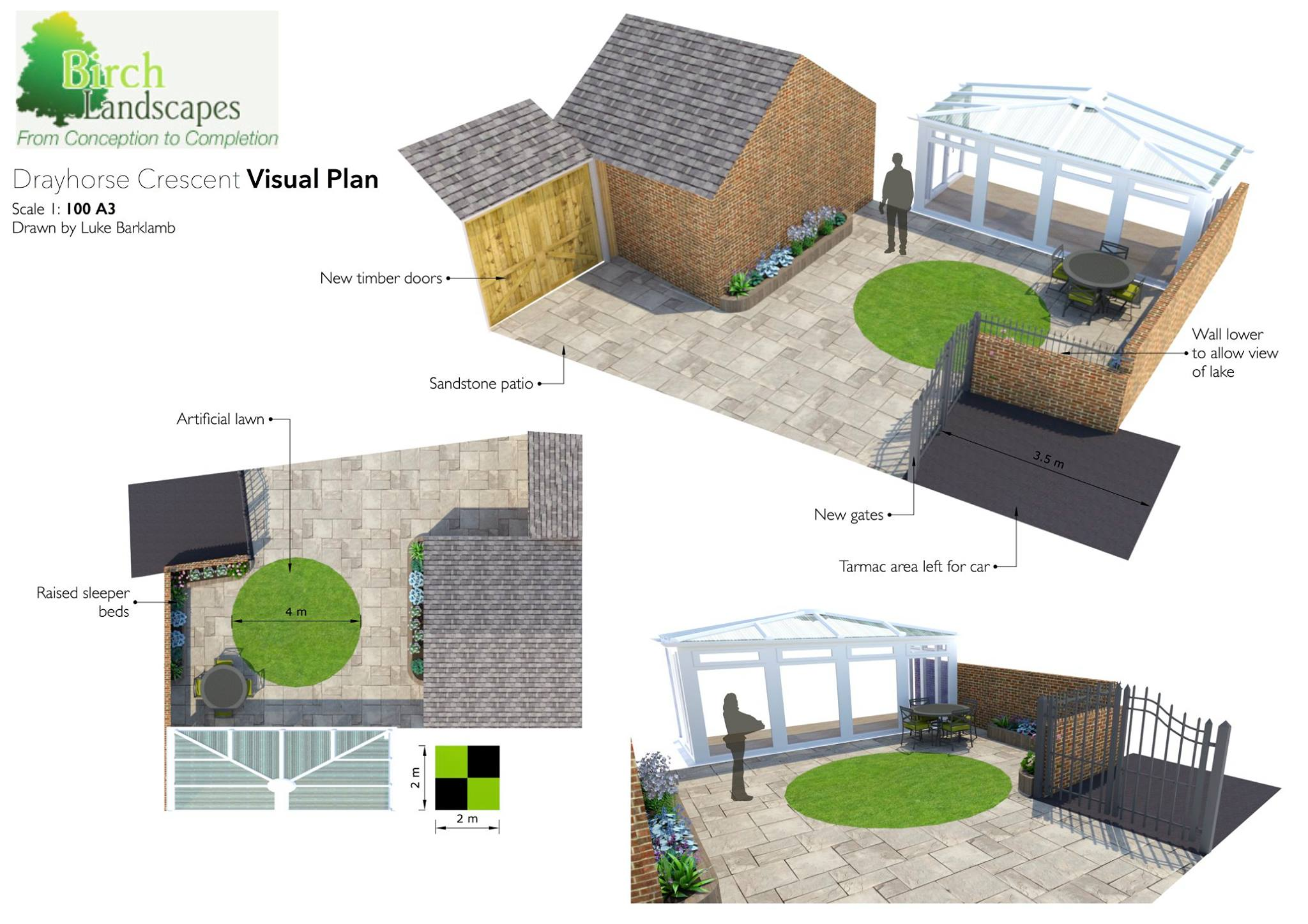 Garden Designers in Milton Keynes
