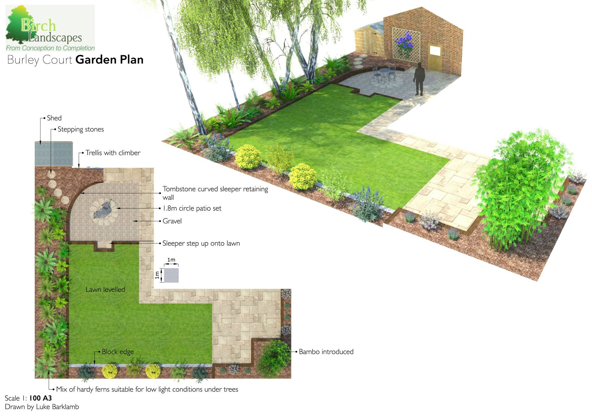 Garden Design in Milton Keynes - Birch Landscapes