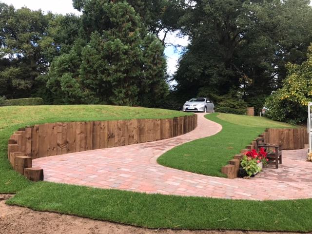 Driveway and garden design in Milton Keynes