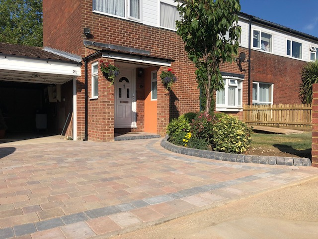 Driveway block paving in leighton buzzard