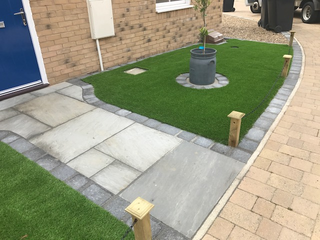 Paving design in Milton Keynes