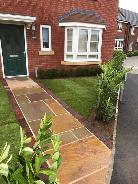 Front paving in Milton Keynes